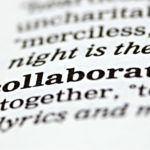 collaborate in a book