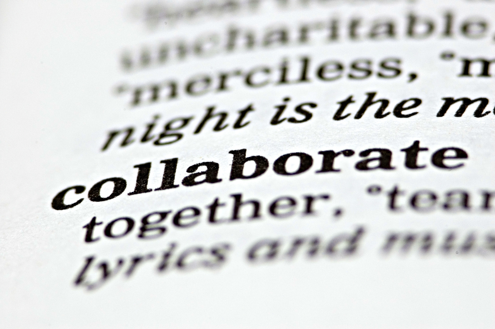 Collaborate Here The Makerspace