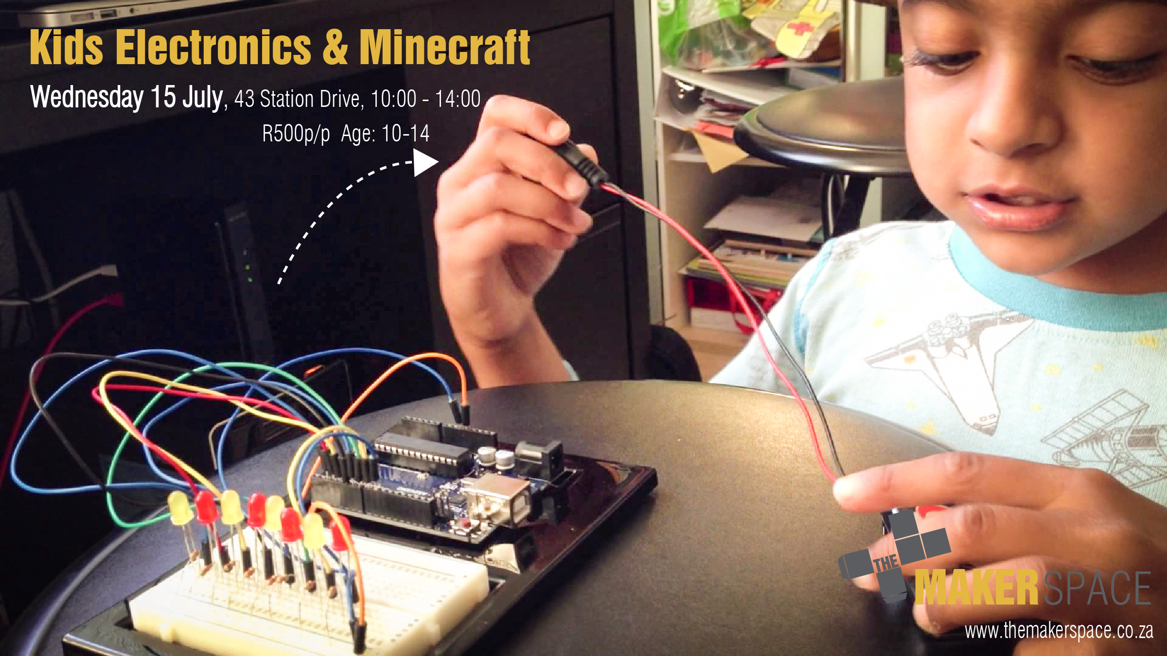 Kids Electronics Minecraft The Makerspace Electrical Circuit