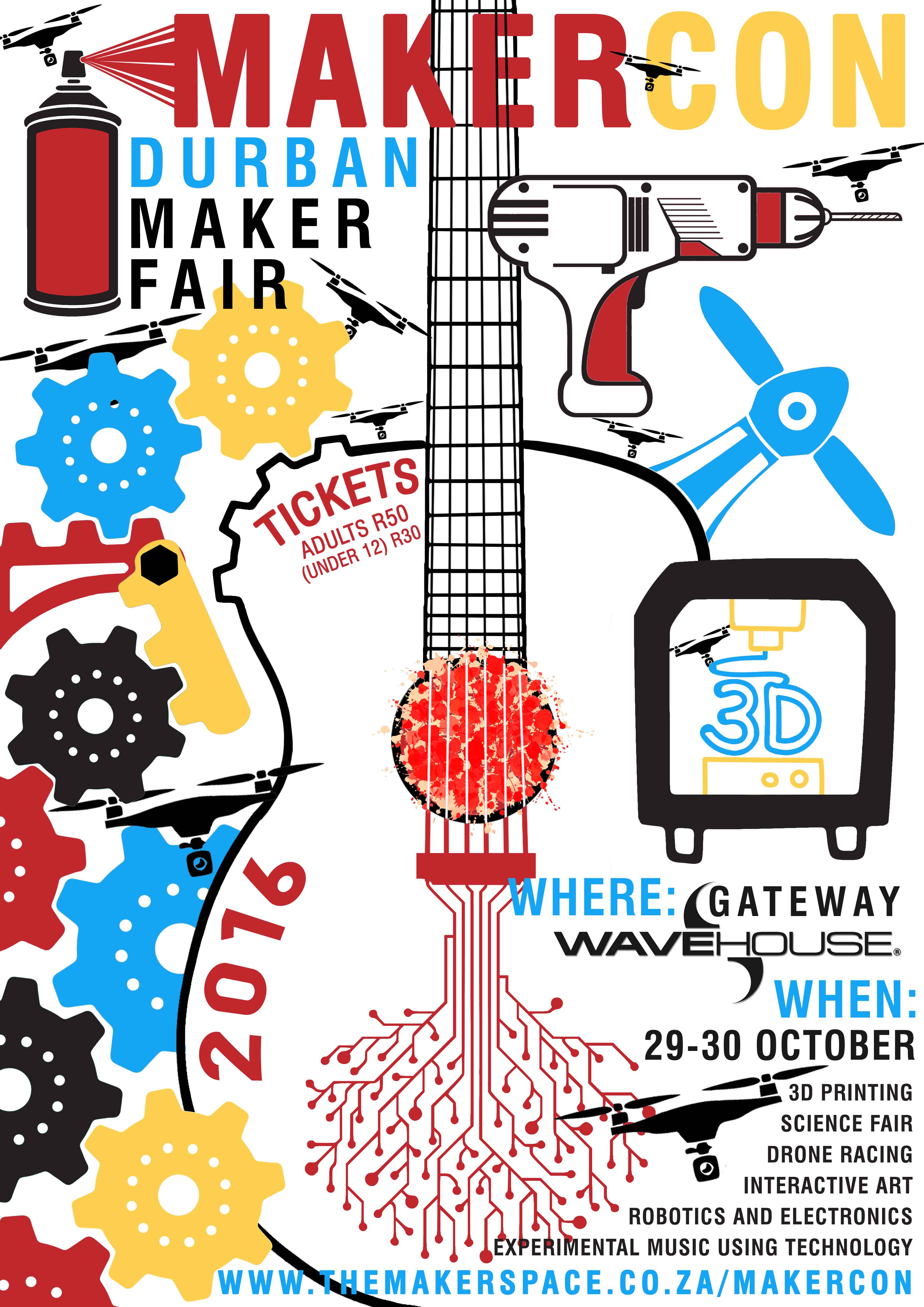 MakerCon 2016 The MakerSpace – Ticket Maker