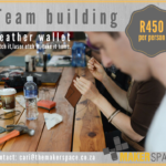 Leather Craft Team Building