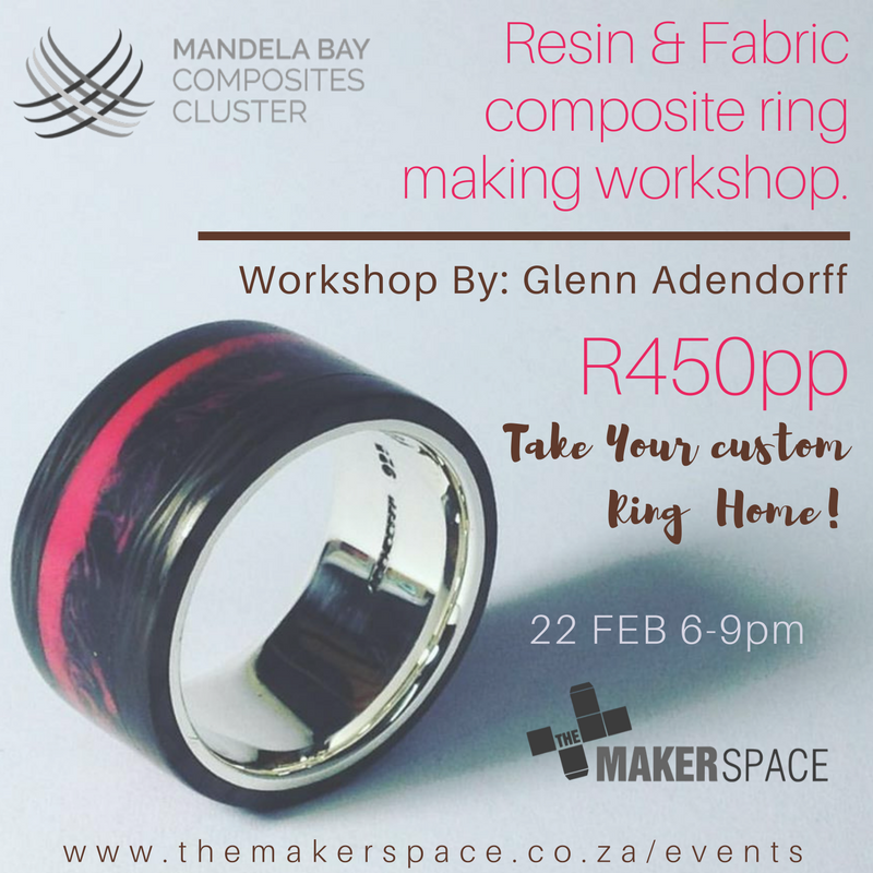 3 hour ring making workshop includes a cool drink and take your ring home with you